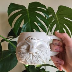 Being a sick bitch on a Sunday  I have no voice  and am too sick to make anything  going to drink tea out of my beard cup to make me better.  This pretty baby is available to purchase. Link to shop in bio.