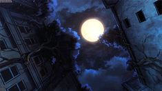 Image de night in 2021 Sky anime, Anime scenery, Sky gif