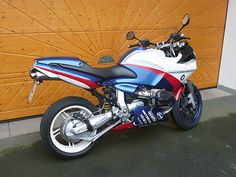 BMW R1100s Boxer Cup como Moto deportiva en Bad Pyrmont