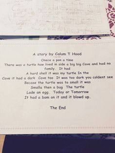 The original, courtesy of Calum Hood on Instagram. smalla then a bug. OMG LOOK AT HIS HAND WRITING xD