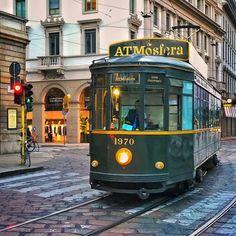 "141 Likes, 5 Comments - Adrian McGarry (@adrianmcgarry) on Instagram: ""#milan  #italy #tram #streetcar #italian_places #picturetokeep_hdr #picturetokeep_art #art #wallart…"""