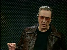 Christopher Walken - More cowbell! Saturday Night Live, April 8, 2000