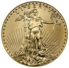 2016 $50 1 Troy Oz Gold American Eagle Coin SKU38304
