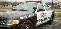 Yoga Police Car - Ford Crown Vic Police Interceptor
