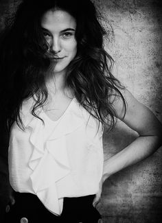 Caroline Dhavernas - I see her as the woman investigating Winston!