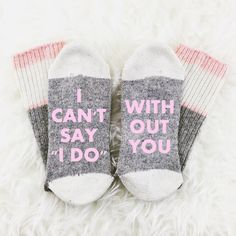 Wedding Gifts 17 Bridesmaid Proposal Ideas - Choosing a way to ask your favourite girls to help get you down the aisle is no small task! You will love these 17 top bridesmaid proposal ideas! Bridesmaid Socks, Bridesmaids And Groomsmen, Wedding Bridesmaids, Bridesmaid Ideas, Wedding Dresses, Cute Ways To Propose, And So It Begins, Bridesmaid Proposal Gifts, Will You Be My Bridesmaid
