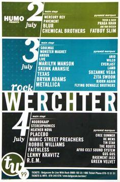 Rock Werchter 1999