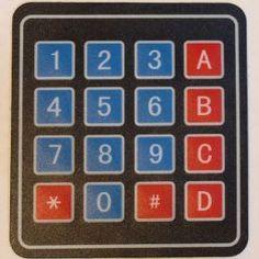 16-key Keypad Tutorial | Arduino Board