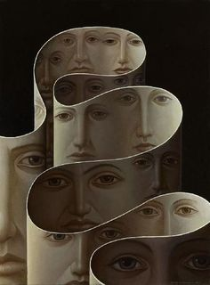 George Underwood  (I'm inclined to believe this is a rare piece by Piero Fornasetti?)