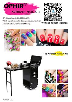 28 Best Ophir Airbrush Nail Art Images On Pinterest Airbrush Nail