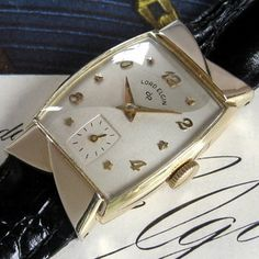 Beautiful American-made1951Lord Elgin 21 jewel watch. ::sigh::