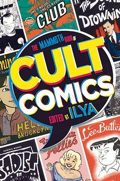 """The Mammoth Book of Cult Comics 
