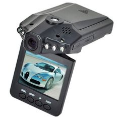 New 2.5″ HD Car LED IR Vehicle DVR Road Dash Video Camera Recorder Traffic Dashboard Camcorder – LCD 270° whirl 6 LED Recorder Camera