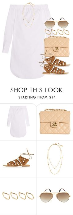 """""""Style #10553"""" by vany-alvarado ❤ liked on Polyvore featuring rag & bone, Chanel, Topshop, Chloe + Isabel, ASOS and Ray-Ban"""