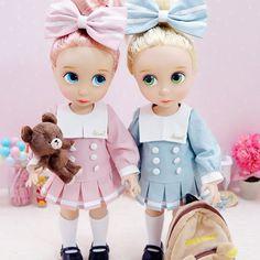double trouble Disney Animator dolls
