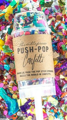 Push pop confetti