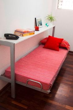 Cama cucheta de hierro metros indestructible camas - Muebles cama abatibles ikea ...