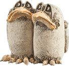 Bea Riksen handgevomd keramiek - ouder werk Pottery Animals, Ceramic Animals, Ceramic Birds, Clay Animals, Ceramic Clay, Ceramic Pottery, Sculptures Céramiques, Bird Sculpture, Clay Projects