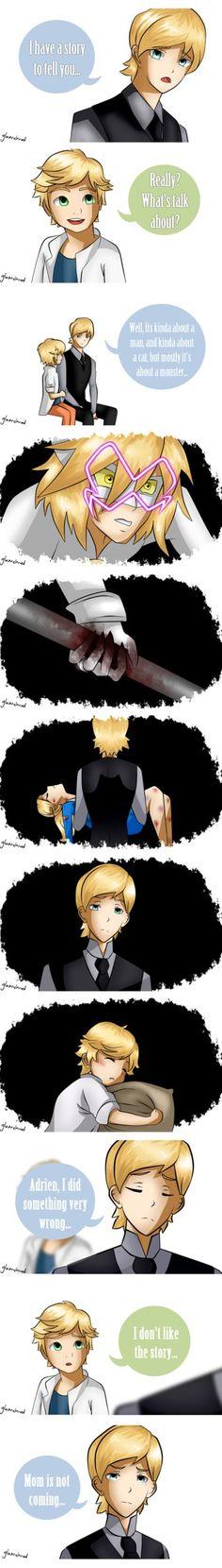 Soooooooooo..... I'm done xD Working in Adrien's performance <3<3 ... Chat Noir ir the cutest's thing I ever seen before :'3 [Its MINE SO DON'T TOUCH HIM!!!!1!!!!!!1!!!! ]