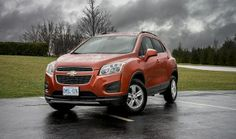 2015 Chevrolet Trax compact SUV will go on sale in early 2015.