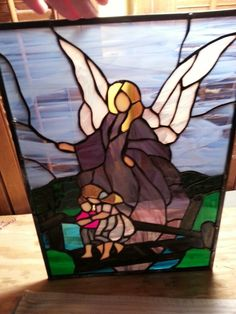 Guardian Angel stained glass