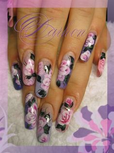 Nail Art Gallery - one stroke
