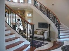 Grand Staircase, Stairs, Round House Plans, Out Of This World, Future House, Home Projects, Entryway, Staircases, Solitude