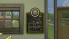 "hmmmlosims4: "" I liked the chalkboard bulletin and decided to give it more colors! Download """