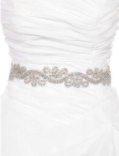 Cinturon para vestido de novia