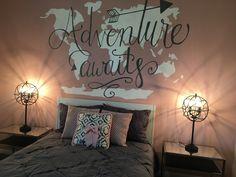 Adventure girls room Decor, Home Decor Decals, Saratoga Homes, Home Decor, Room