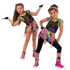 Hip hop outfit ideas spring recital costume for my ii girls dress up Hipster Outfits, Outfits Casual, Kids Outfits, Dance Costumes Kids, Hip Hop Costumes, Girl Costumes, Halloween Costumes, Dance Picture Poses, Dance Poses