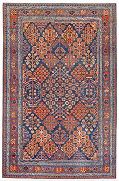 Persian Josheghan rug, mid c Grey Carpet, Modern Carpet, Persian Carpet, Persian Rug, Magic Carpet, Carpet Design, Blue Art, Carpet Runner, Kilim Rugs