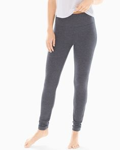 Slimming Leggings get a cozy update with fleece fabric. Power mesh waistband to slim. Takes off up to of your waist or more. Inseam: approximately Exclusive. Fashion Essentials, Style Essentials, Barefoot Dreams, Wacoal, Easy Wear, Fleece Fabric, My Wardrobe, Pajama Pants, Sweatpants