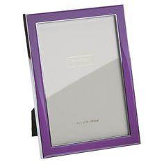Purple Enamel Frame