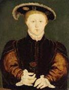 Website on Edward 6th - Henry VIII's third child and only son