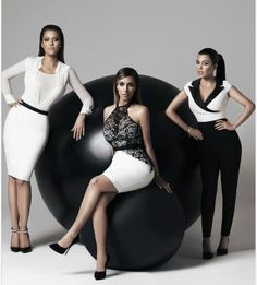Khole, kim, and kourtney kardashian