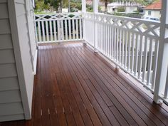 mahogany porch floor