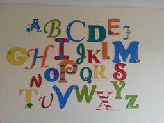 Alphabet- Wall - Dancing Duck Designs