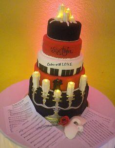 Phantom of the Opera Cake my 16th BIRTHDAY cake?..... so many choices..