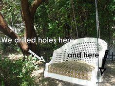 * Peppertowne *: Tree Swing DIY