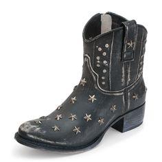 Sendra Boots 10600 SARA RASPADO NEGRO  #Botasonline #botas #boots #Sendra
