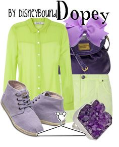 """""""Dopey"""" by lalakay ❤ liked on Polyvore"""