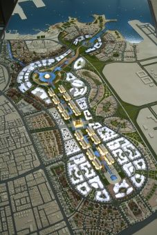 A Physical Model of Al Sahan City Architecture Courtyard, Landscape Architecture Design, Futuristic Architecture, Architecture Plan, Architecture Diagrams, Architecture Portfolio, Urban Design Concept, Urban Design Diagram, Urban Design Plan