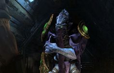Зератул - Поиск в Google Starcraft 2, Joker, Nerd, Cosplay, Statue, Artwork, Fictional Characters, Google, Aliens