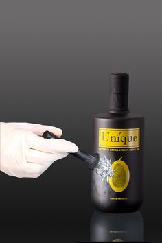 unique olive oil on Behance