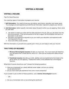 examples of good objectives for resumes