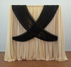 Criss Cross curtain backdrops - Google Search