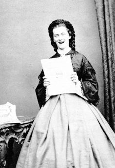 Duchess Sophie Charlotte Augustine in Bavaria (23 February 1847 – 4 May 1897), The Duchess of Alençon. The younger sister of Empress Elisabeth of Austria was a talented singer and piano player.A♥W