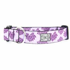 Wide Nylon Dog Collar | Nirvana Wide Clip Adjustable Dog Collar