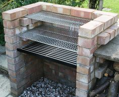Outdoor Kitchen Bbq Kits Beautiful Charcoal Diy Brick Bbq Kit with Stainless Grill & Warming